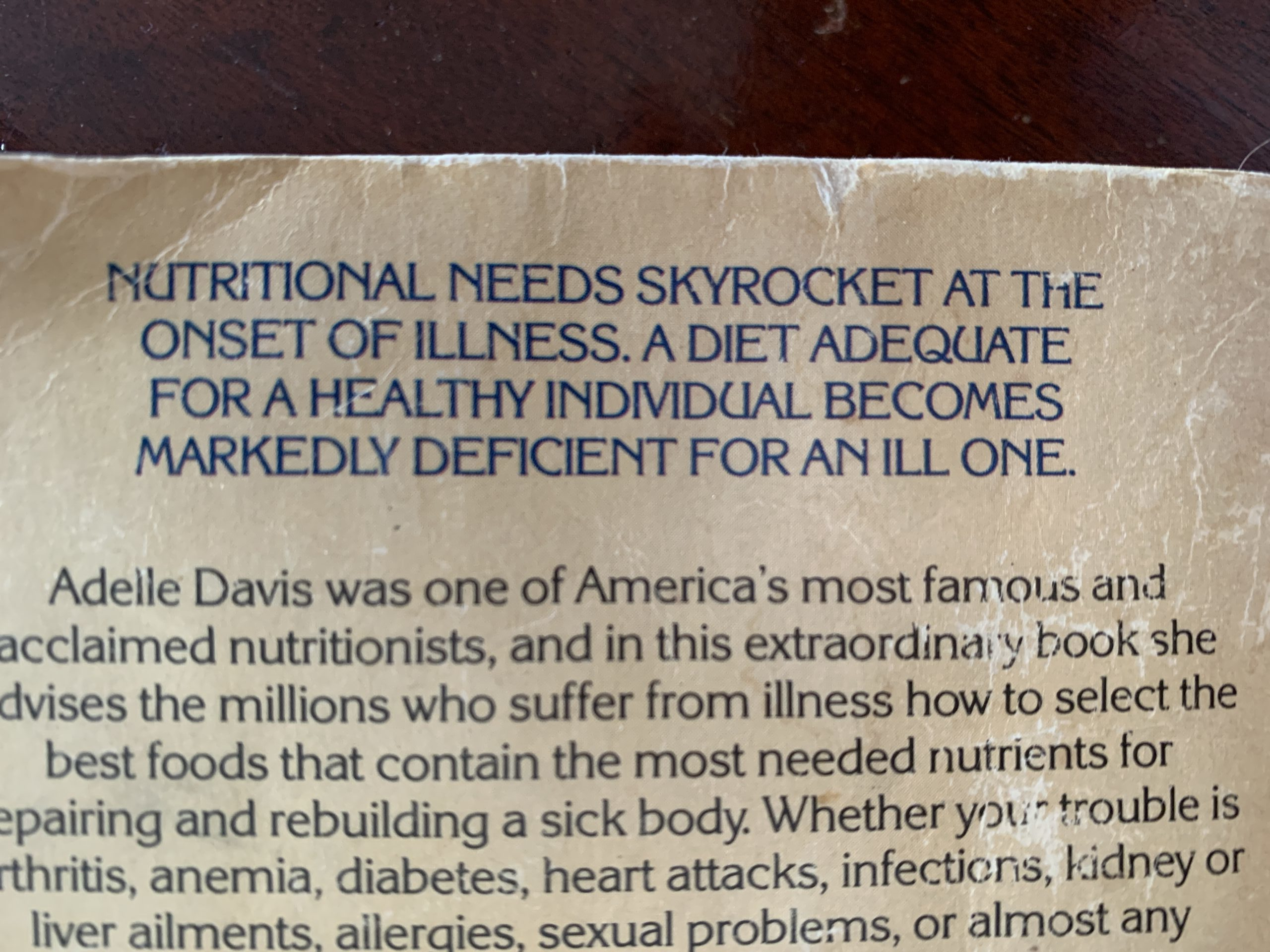 Adelle Davis and Your Health